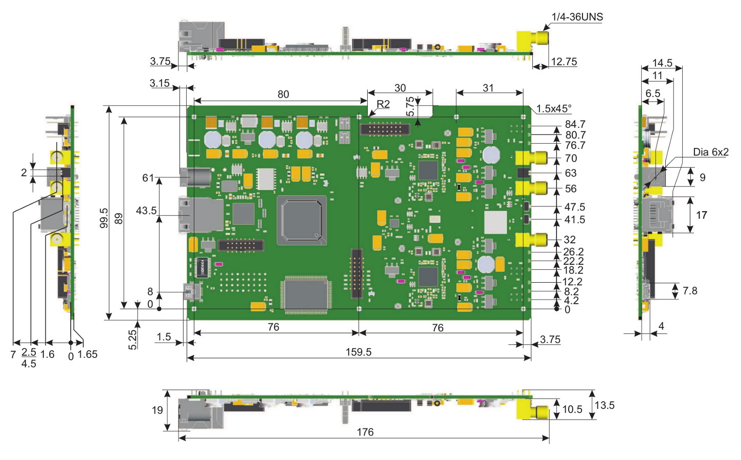 Electronics Irc Archive For 2015 03 12f675 Based Brushed Motor Esc